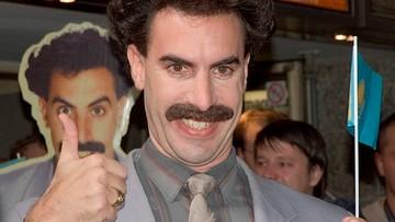 Borat reklamował marihuanę na billboardach w USA. Twórca postaci żąda wysokiego odszkodowania
