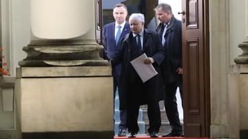 """""""Prezydent ma zastrzeżenia do części poprawek PiS"""". Łapiński po spotkaniu prezydenta z prezesem PiS"""