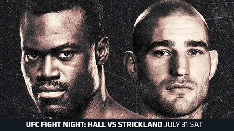 UFC Vegas 33: Uriah Hall - Sean Strickland. Transmisja TV i stream online