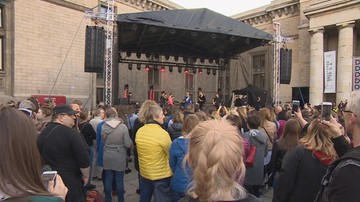 W Kielcach, Warszawie i Poznaniu demonstracje poparcia dla nauczycieli