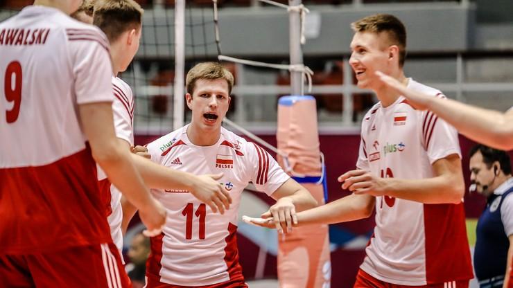 MŚ siatkarzy U-21: Pewne zwycięstwo Polaków na rozpoczęcie drugiej fazy