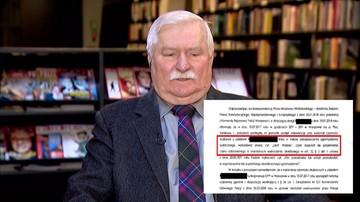 """""""Wykrzykiwał »Lech Wałęsa«, czym dopuścił się czynu zabronionego"""". Policja podaje powód interwencji"""