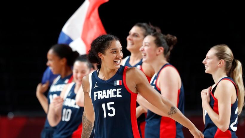 Tokio 2020: Francuzki z brązowymi medalami w turnieju koszykówki