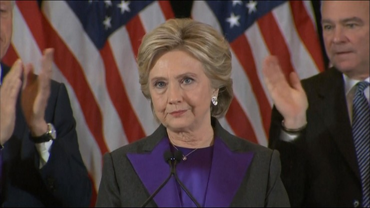 """""""To będzie długo bolało"""". Hillary Clinton o swojej porażce"""