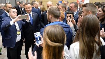 Prezydent Duda: do bycia liderem niezbędna jest charyzma