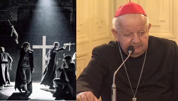 """""""Ohydne poniżenie św. Jana Pawła II"""". Kard. Dziwisz o spektaklu """"Klątwa"""""""