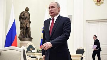 Putin wysłał życzenia noworoczne do światowych przywódców. Pominął Polskę i Ukrainę