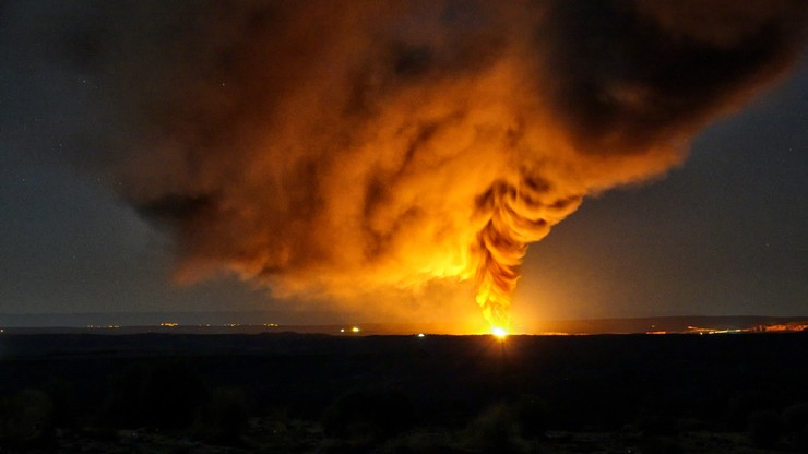 Pożar szybu naftowego. Zginęło co najmniej 10 osób