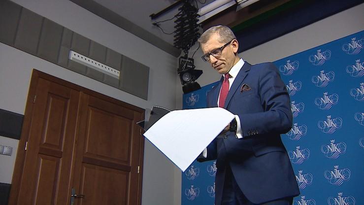 Prezes NIK: trwa kontrola w KNF. Ma związek ze sprawą GetBack