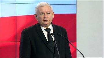 """Kaczyński apeluje o zaprzestanie walk politycznych. """"Przynajmniej do końca wizyty papieża w Polsce"""""""
