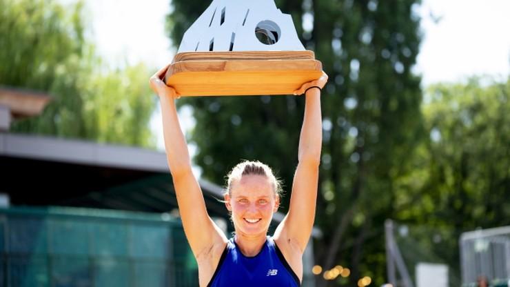 WTA w Lozannie: Pierwszy tytuł Ferro
