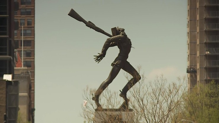 Sprawa pomnika w Jersey City: władzemiasta odrzuciły większość podpisówpod petycją ws. referendum