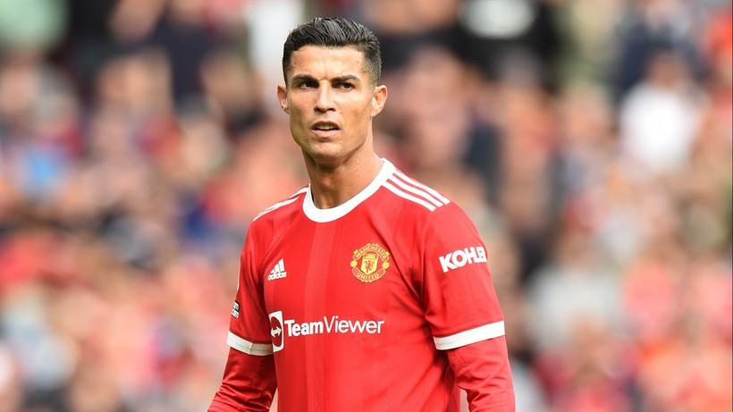 Gol Cristiano Ronaldo w meczu Manchester United - Newcastle United - Polsat Sport