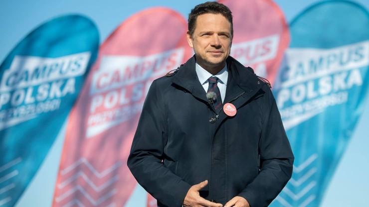 """""""Polska Przyszłości"""" według Rafała Trzaskowskiego. Prezydent Warszawy chce odbudować koalicję"""