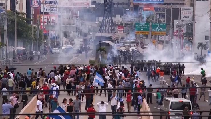 Protesty w Hondurasie. 3 osoby zginęły w starciach z policją