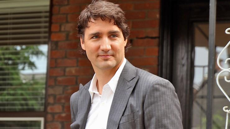 Premier Kanady Justin Trudeau obrzucony żwirem. Wyciągnięto konsekwencje wobec podejrzanego