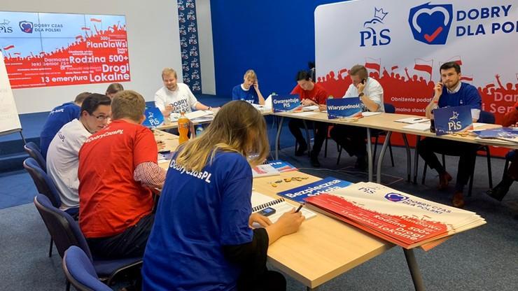 PiS uruchomiło... call center. Będą zachęcać do udziału w wyborach