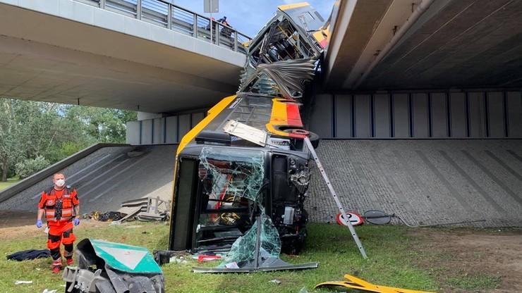 Wypadek autobusu w Warszawie. Jest akt oskarżenia dla kierowcy