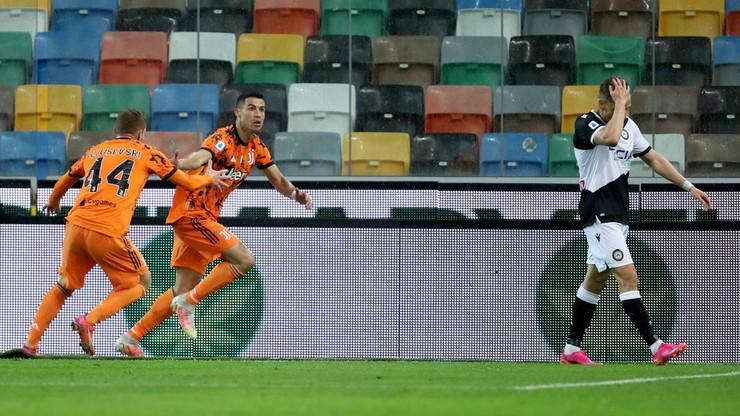 Serie A: Cristiano Ronaldo zapewnił wygraną ustępującemu mistrzowi