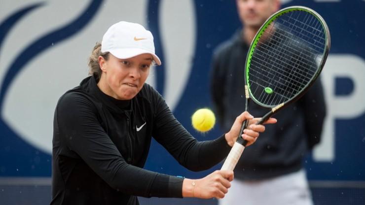 WTA w Lugano: Porażka Świątek w finale