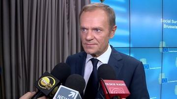 Schetyna: być może Tusk zostanie kandydatem PO na prezydenta