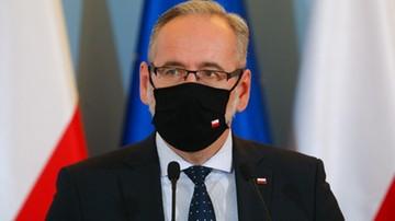 Minister zdrowia zrobił test na koronawirusa. Poznał wynik