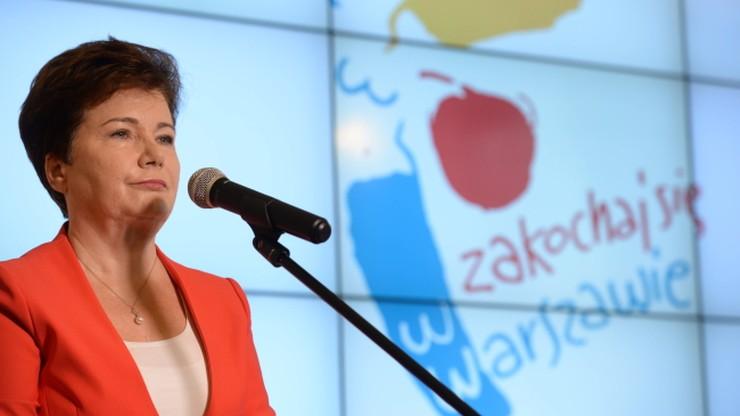 PiS apeluje do Schetyny o stawienie się Gronkiewicz-Waltz przed komisją weryfikacyjną