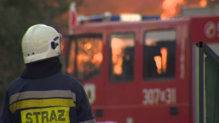 Białystok: trzy osoby zginęły w pożarze budynku gospodarczego w centrum miasta