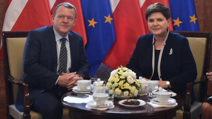 Spotkanie premierów Polski i Danii w Warszawie