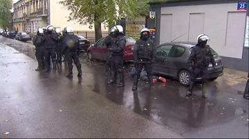 Przepychanki z policją przed derbami Łodzi. Ponad 20 osób zatrzymanych