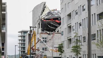 Katastrofa budowlana w Belgii. Są zabici i ranni