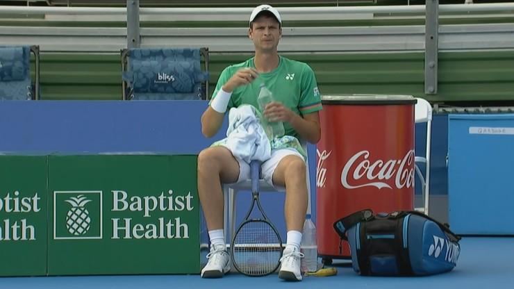ATP w Delray Beach: Hubert Hurkacz zagra w półfinale