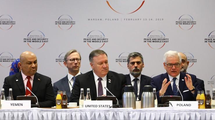 Izraelski dziennik: szczyt w Warszawie nie stworzy sojuszu przeciw Iranowi