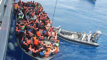 Premier Libii prosi lotnictwo o naloty na przemytników migrantów