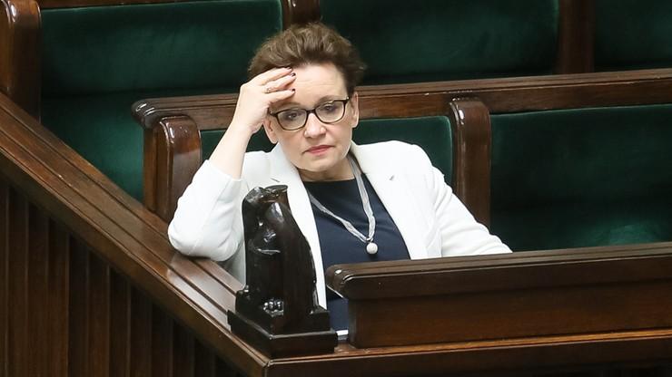 """Minister edukacji """"nie otrzymała promocji do następnej klasy"""""""