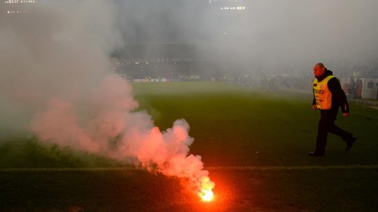Dwuletni zakaz stadionowy dla kibica zatrzymanego po meczu Lech - Lechia