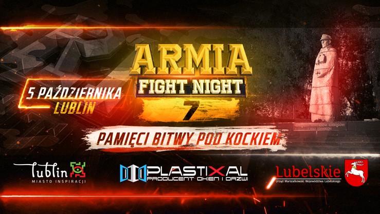 Armia Fight Night 7: Znamy podtytuł gali