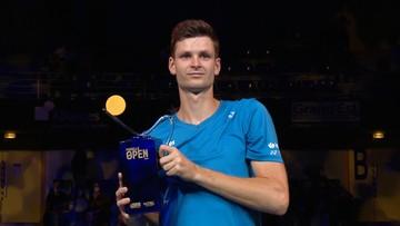 Hurkacz wygrał turniej w Metz!