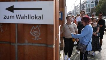 Znamy wyniki sondażu exit poll po wyborach w Niemczech