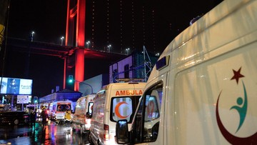 Atak terrorystyczny w Stambule. Zginęło 39 osób