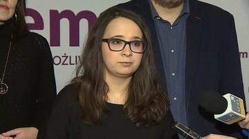 """Marcelina Zawisza """"jedynką"""" na listach Lewicy Razem do PE. Chce bezpłatnych leków na receptę"""