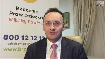 Rzecznik Praw Dziecka o naciąganiu ocen: to nie był żart, ale życzenia aktualne w dobie koronawirusa