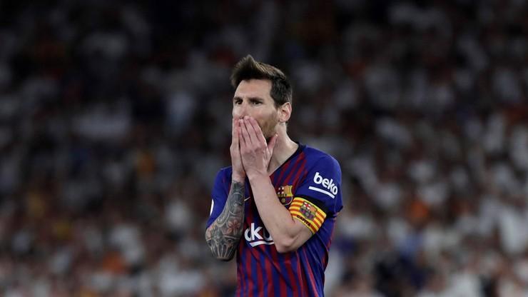 Kontuzja Messiego. Argentyńczyk nie poleci z Barceloną do USA