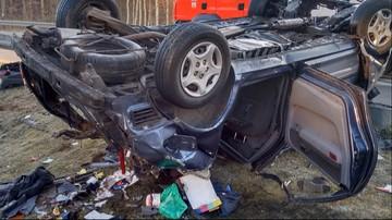 Tragiczny wypadek w Kujawsko-Pomorskiem. Nie żyją kobieta i dwoje dzieci
