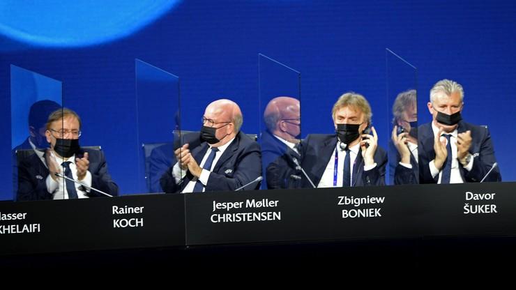 Zbigniew Boniek wybrany na wiceprezydenta UEFA