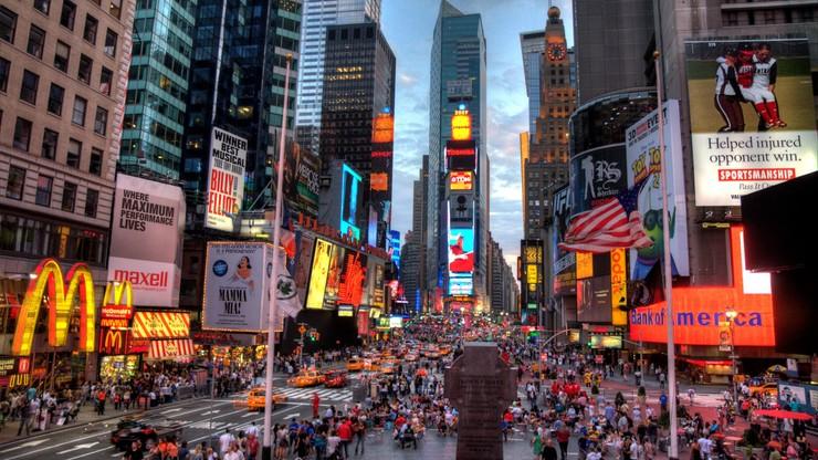 Nowy Rok na Times Square. W tym roku głównie wirtualnie