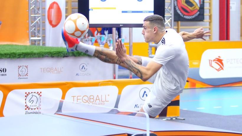 Polski Teqball pnie się w górę. IV Mistrzostwa Polski w Arenie Gliwice