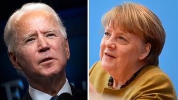 Merkel oceniła jedną z pierwszych decyzji Bidena