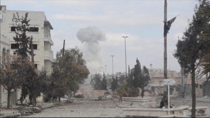Cywile zginęli w tureckich nalotach na Al-Bab