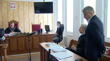 """Frasyniuk przed sądem za wprowadzenie w błąd policjanta. """"To proces z dyspozycji Błaszczaka"""""""